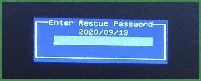 Восстановление пароля ноутбука ASUS
